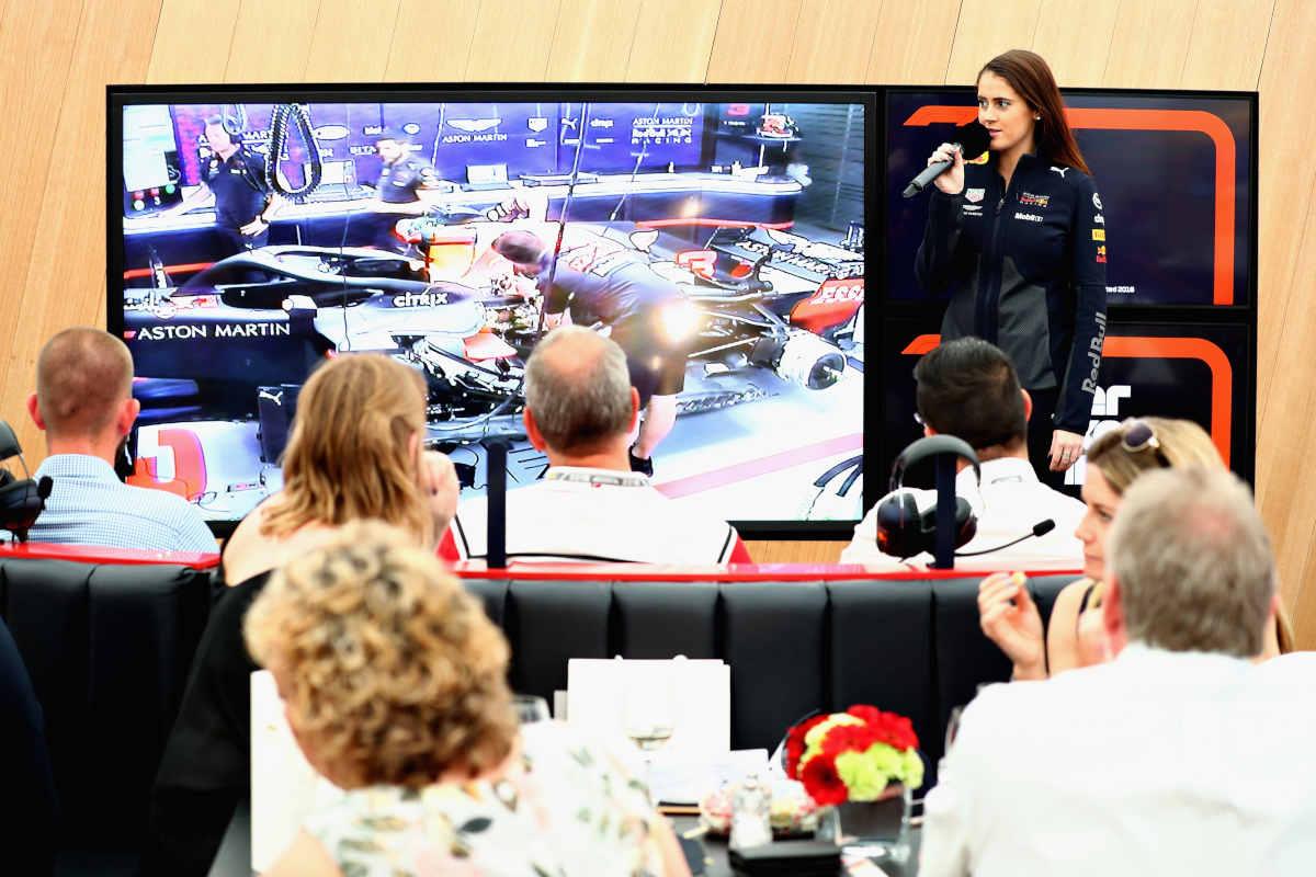 Aston Martin Red Bull Racing Paddock Club Spanish Formula 1 Grand